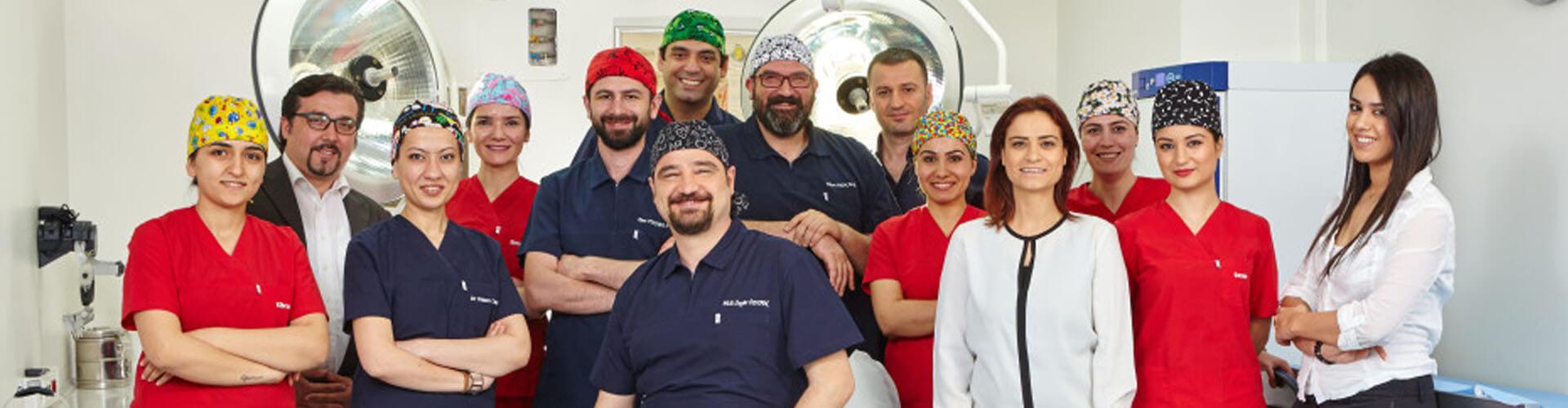 Команда клиники HLC в Анкаре