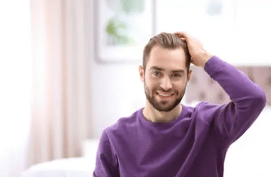 результат пересадки волос в Киеве