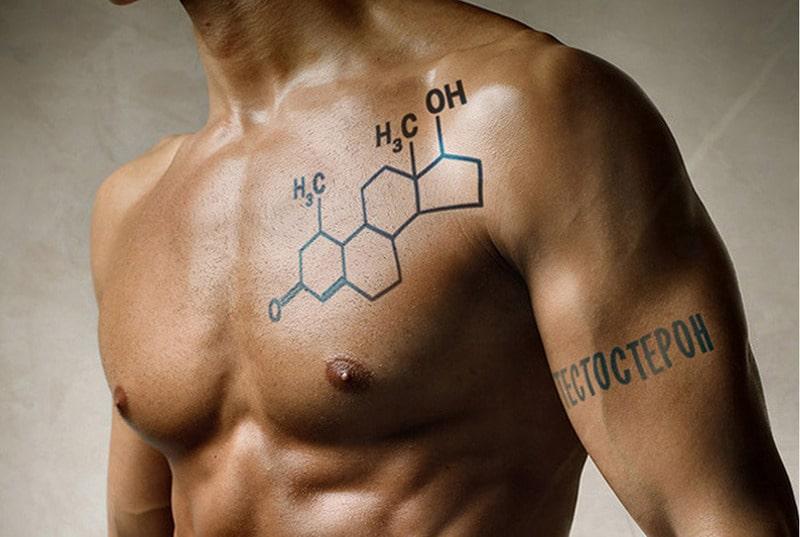 Тестотерон в организме мужчины