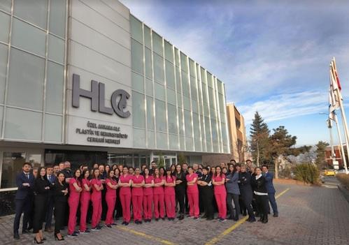 Команда клиники по пересадке волос HLC