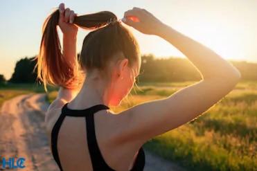 Вопрос влияния спорта на волосы