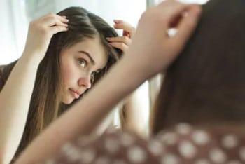 Профилактика выпадения волос на висках у женщин