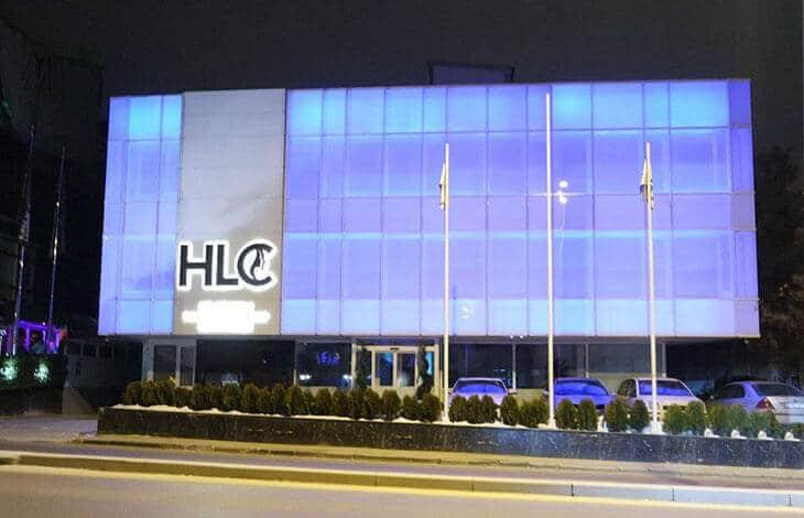 Фасад клиники HLC