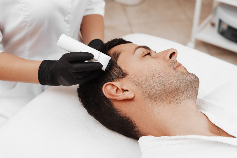 микротоки помогают от выпадения волос