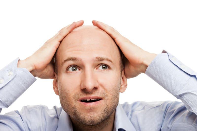 шоковое выпадение волос - что это?