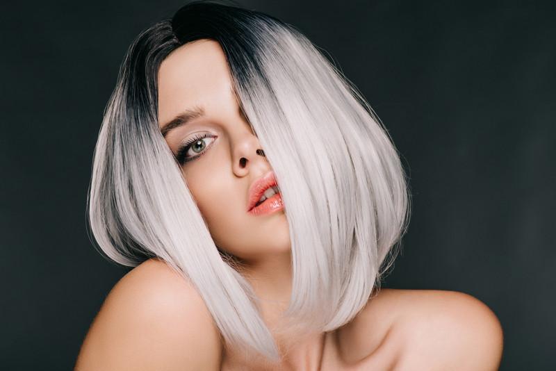 парик помогает скрыть облысение