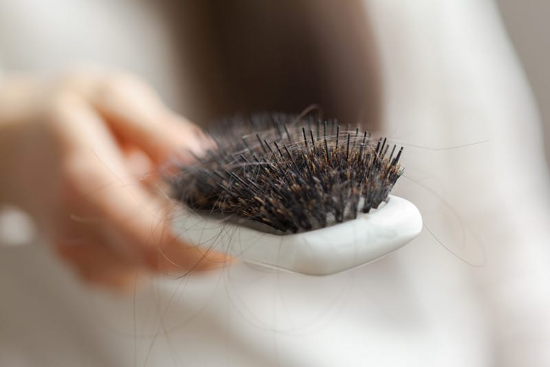 правила питания при выпадении волос