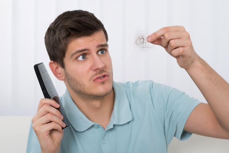 влияние питания на выпадение волос